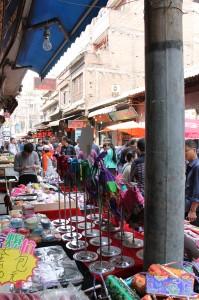 The Market in the Muslim Quarter